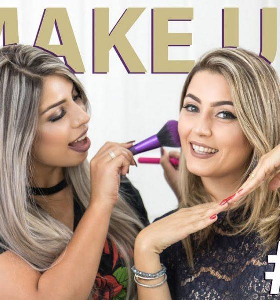 Make Up com Naty Meireles na ULTA BEAUTY