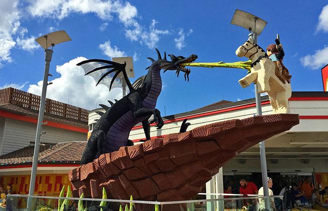 Loja Lego - Disney Springs
