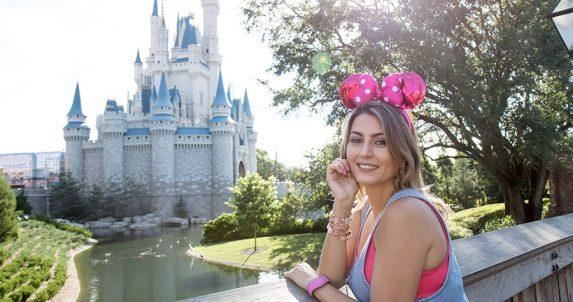Ensaio Fotográfico no Magic Kingdom com Duda Orlando
