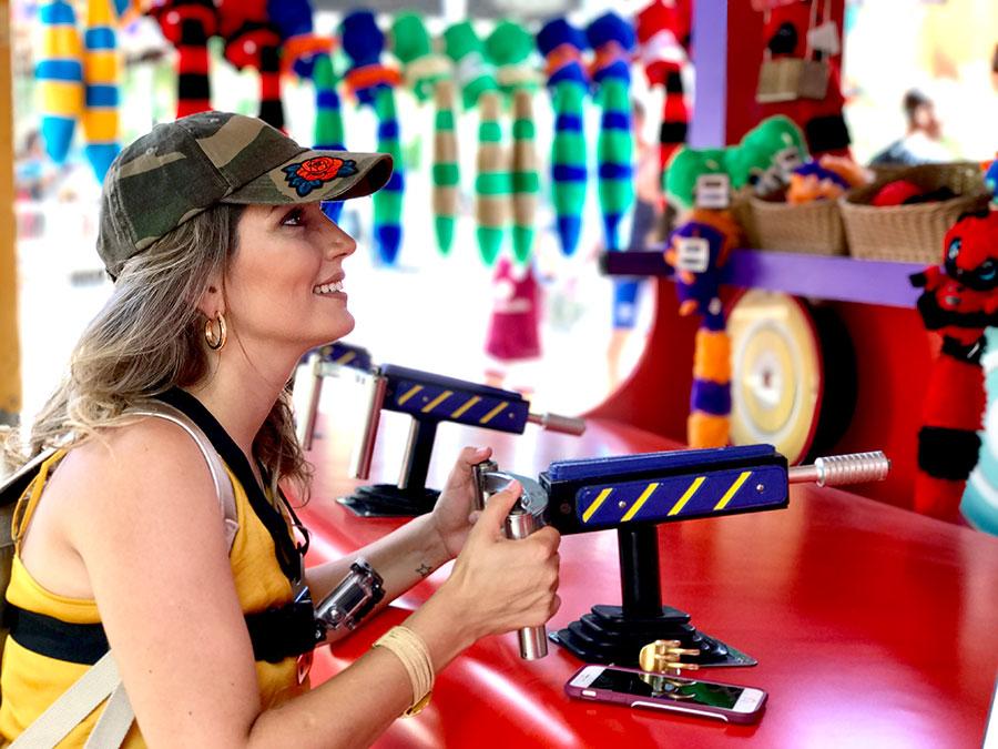 Duda Orlando no Busch Gardens
