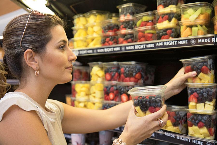 Duda Orlando no Supermercado Whole Foods