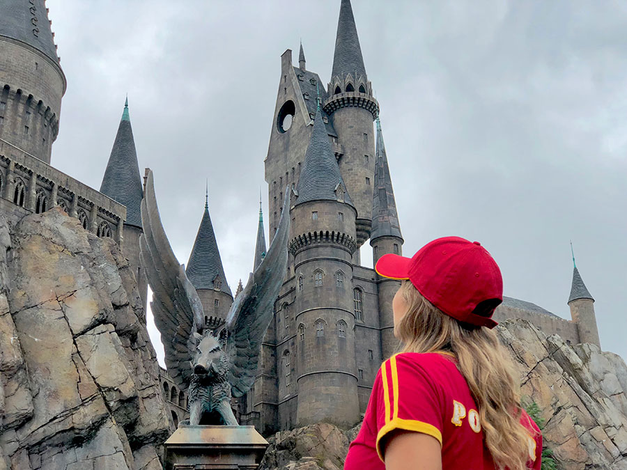 The Wizarding World of Harry Potter no Island of Adventures - Universal Orlando