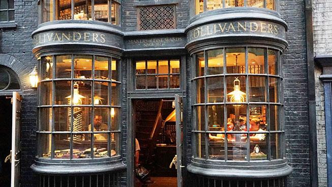 Olivanders Wand Shop - Universal Studios Orlando