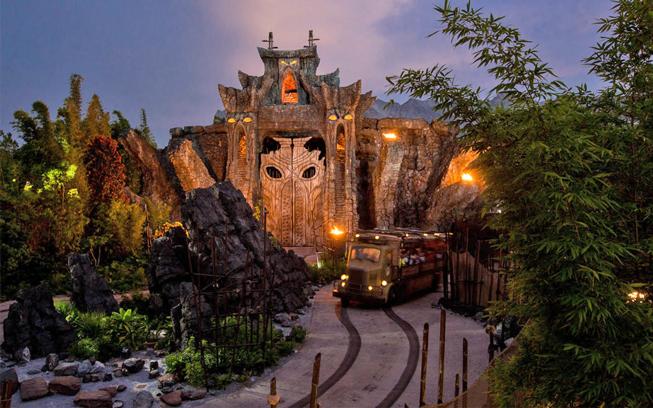 Skull Island Reign of King Kong Universal Studios Orlando