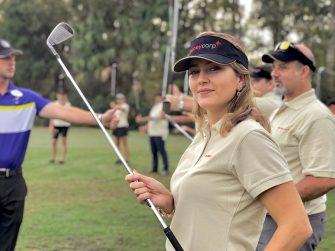 Duda Orlando no Torneio Anual de Golf