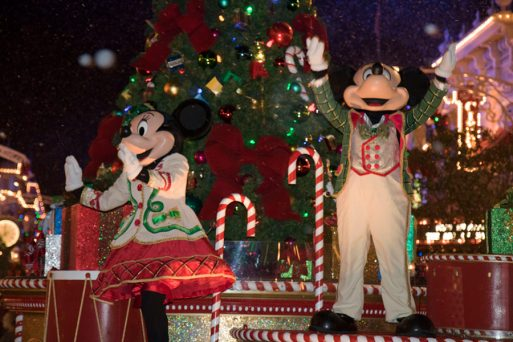Festa de Natal do Mickey no Magic Kingdom