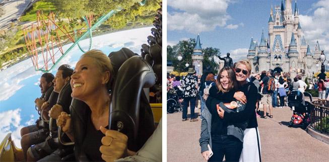 Xuxa de férias na Disney