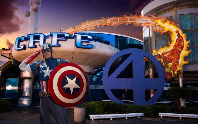 Marvel Heroes - Universal Orlando