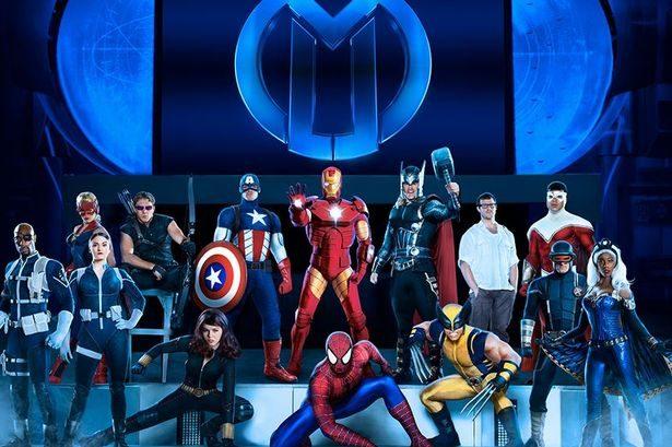 Spider Men - Universal Orlando