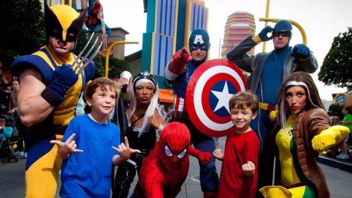 Super Herois Marvel - Universal Orlando