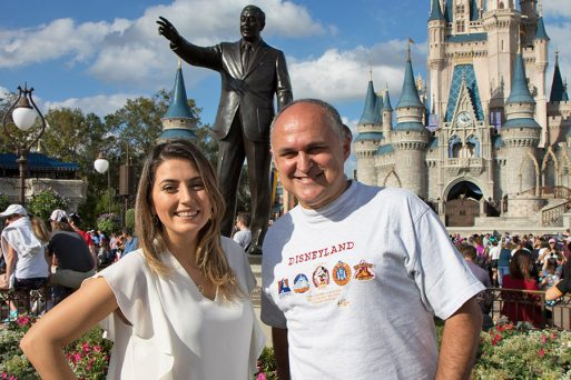 Duda Orlando e Claudemir na Disney - Magic Kingdom