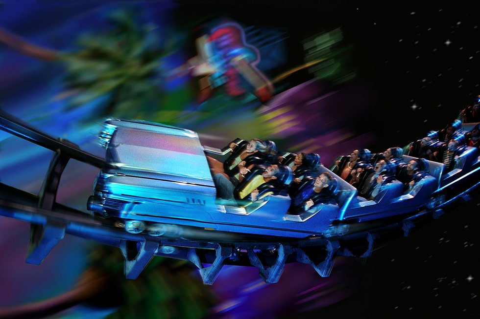 Rock'n'Roller Coaster - Hollywood Studios - Disney World Orlando