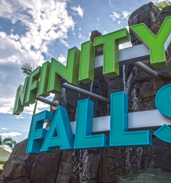 Hoje o SeaWorld Orlando inaugura a Infinity Falls