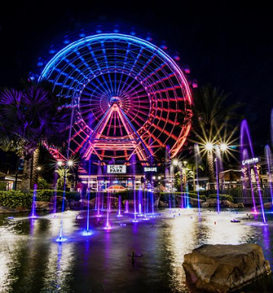 Volta a funcionar a Roda Gigante mais famosa de Orlando