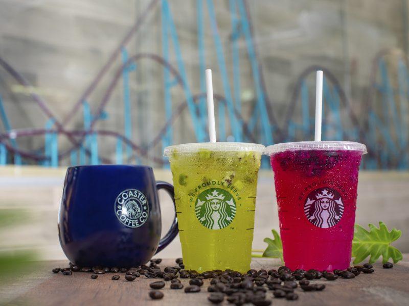 SeaWorld & Starbucks